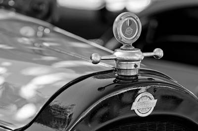 Photograph - 1922 Studebaker Hood Ornament by Jill Reger