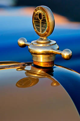 1922 Studebaker Touring Hood Ornament 3 Art Print by Jill Reger