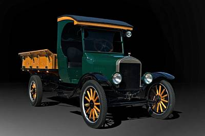 Photograph - 1923 Ford Model Tt One Ton Truck by Tim McCullough