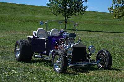 Photograph - 1923 Ford T Bucket Hot Rod by Tim McCullough