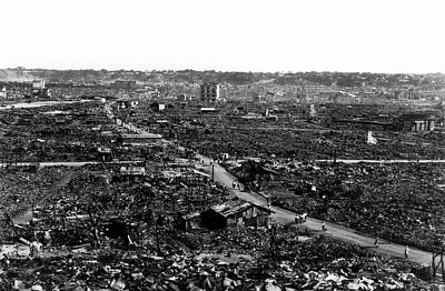 Devastation Photograph - 1923 Great Kanto Earthquake by Us Geological Survey
