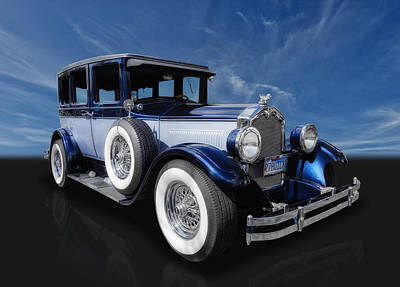 Photograph - 1927 Buick 4 Door Sedan by Frank J Benz