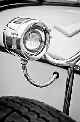 Photograph - 1927 Rolls-royce Phantom I Brewster Kenilworth Light -0209bw by Jill Reger