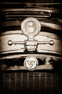 1928 Dodge Brothers Photograph - 1928 Dodge Brothers Hood Ornament - Moto Meter by Jill Reger