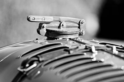 Photograph - 1929 Birkin Blower Bentley Hood Ornament by Jill Reger