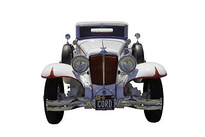 Photograph - 1929 Cord 6-29 Cabriolet Antique Car by Keith Webber Jr