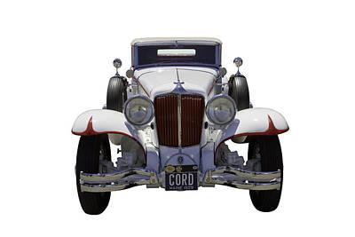 Impressionist Landscapes - 1929 Cord 6-29 Cabriolet Antique Car by Keith Webber Jr