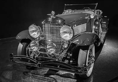 Photograph - 1929 Duesenberg Model J by Roger Mullenhour