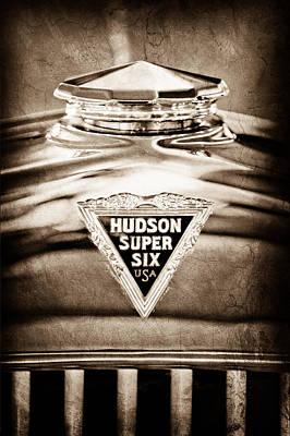 Photograph - 1929 Hudson Cabriolet Hood Ornament by Jill Reger