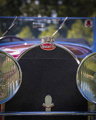 Photograph - 1930 Bugatti Type 50 Drop Head Coup by Jack R Perry