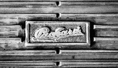 Photograph - 1930 Packard Deluxe Eight 745 Dual Cowl Sport Phaeton Emblem by Jill Reger