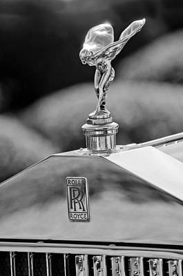Photograph - 1930 Rolls-royce Phantom I Transformal Phaeton Hood Ornament by Jill Reger