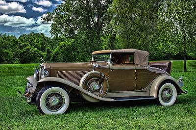 Photograph - 1931 Auburn Cabriolet by Tim McCullough