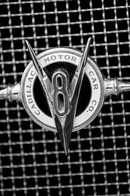 Photograph - 1931 Cadillac Grille Emblem by Jill Reger