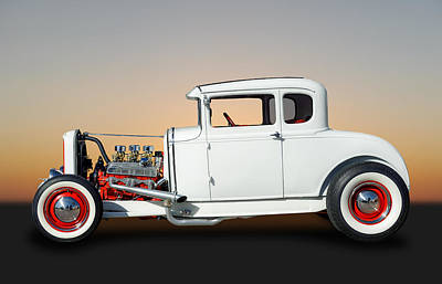 Photograph - 1931 Ford 5 Window Coupe  by Frank J Benz