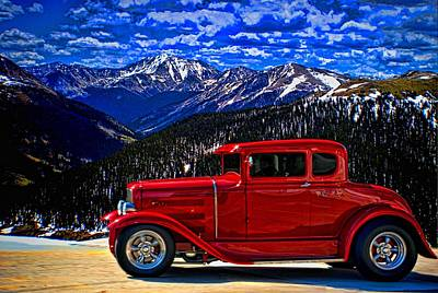 Photograph - 1931 Ford Hot Rod Coupe by Tim McCullough