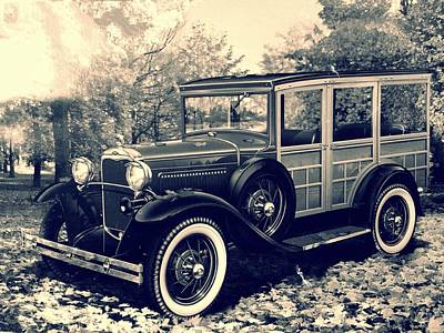 Photograph - 1931 Type 150-b Ford by Carlos Avila