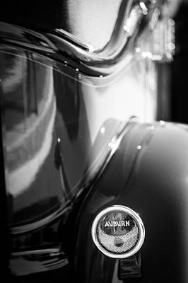 Photograph - 1932 Auburn Twelve Custom Phaeton Taillight Emblem by Jill Reger
