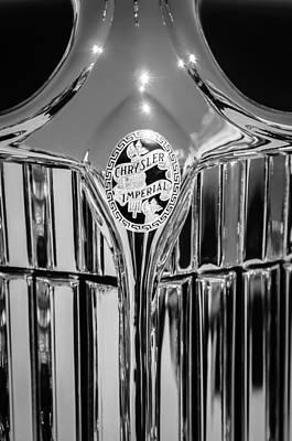 Photograph - 1932 Chrysler Ch Imperial Cabriolet Grille Emblem by Jill Reger