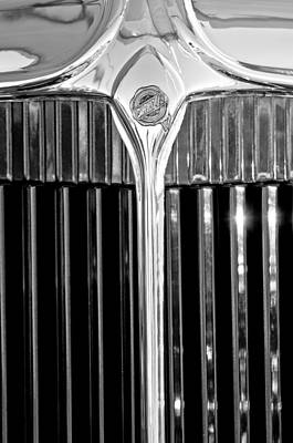 Photograph - 1932 Chrysler Hood Ornament by Jill Reger