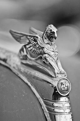 Essex Wall Art - Photograph - 1932 Essex Griffin Hood Ornament by Jill Reger
