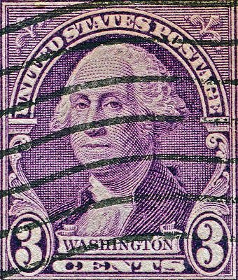 Photograph - 1932 George Washington Stamp by Bill Owen