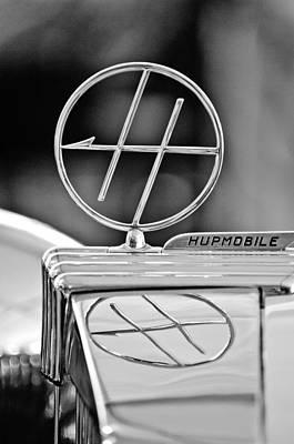 1932 Hupmobile Custom Roadster Hood Ornament Art Print by Jill Reger