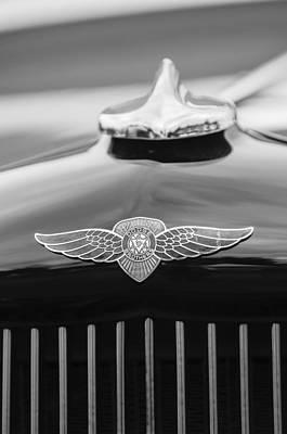 Photograph - 1934 Dodge Flat Bed Pickup Truck Emblem by Jill Reger