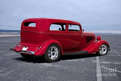 Western Art - 1934 Ford Sedan by Dave Koontz