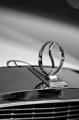 Photograph - 1934 Studebaker Hood Ornament by Jill Reger