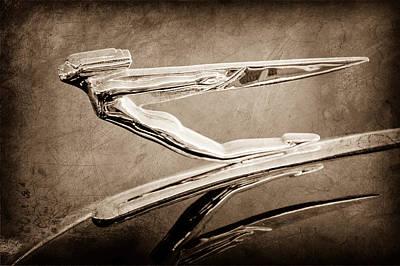 Photograph - 1936 Auburn Speedster Replica Hood Ornament by Jill Reger