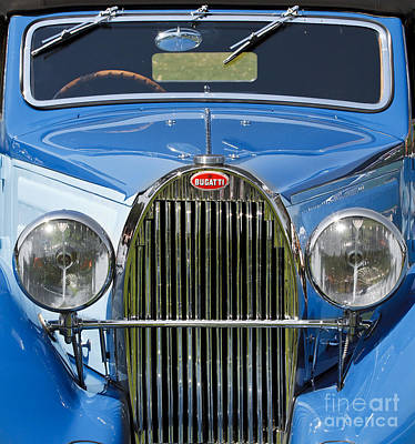 Photograph - 1936 Bugatti Type 57 by Dennis Hedberg