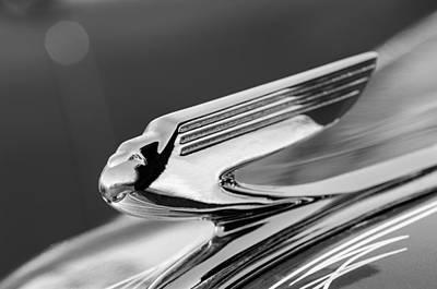 Photograph - 1936 Chevrolet 2dr Sedan Hood Ornament by Jill Reger