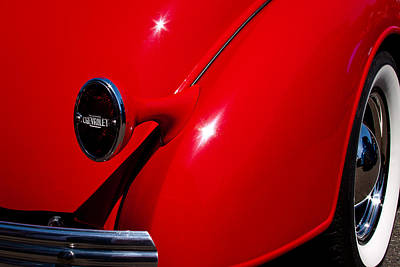 Chevy Coupe Photograph - 1936 Chevy Coupe by David Patterson