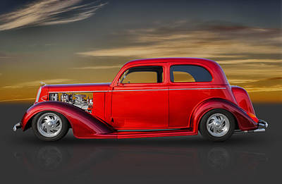 Photograph - 1936  Dodge by Frank J Benz