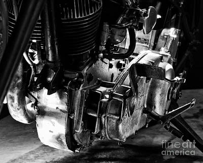 Photograph - 1936 Indian Flat Tracker Motorcycle by Wilma  Birdwell