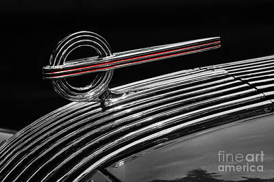 Photograph - 1936 Pontiac Hood Ornament by Dennis Hedberg
