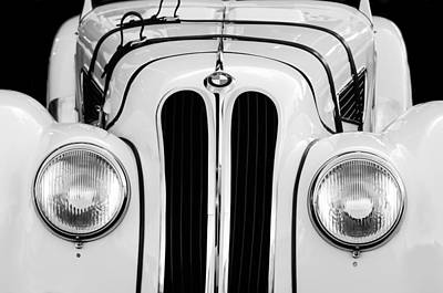 Photograph - 1937 Bmw 328 Roadster by Jill Reger