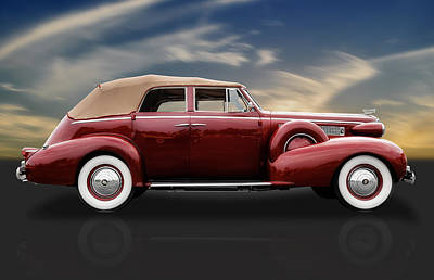 Photograph - 1937 Cadillac V-8 Powered by Frank J Benz