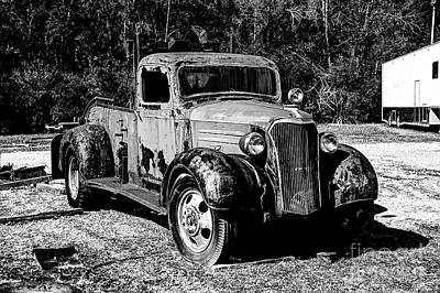 Photograph - 1937 Chevy Wrecker by Paul Mashburn