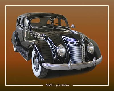 Photograph - 1937 Chrysler Airflow by Jack Pumphrey