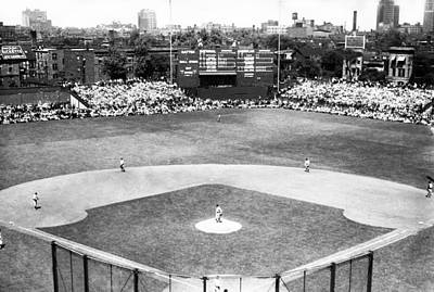 1937 Opening Day At Wrigley Field Art Print by Retro Images Archive