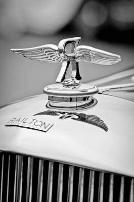 1937 Railton Rippon Brothers Special Limousine Hood Ornament Art Print
