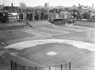 1937 Wrigley Field Scoreboard Print by Retro Images Archive