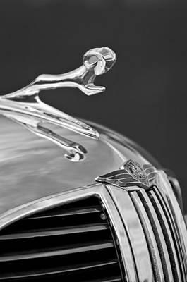 Photograph - 1938 Dodge Hood Ornament by Jill Reger
