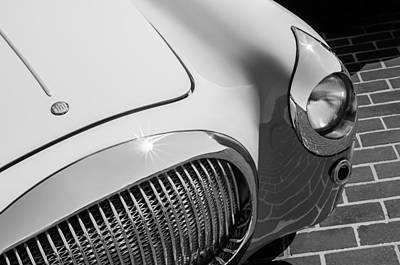 Photograph - 1938 Fiat 508c Berlinetta Speciale Grille - Hood Emblem by Jill Reger