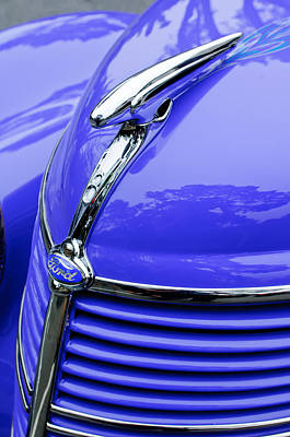 1938 Ford Hood Ornament Art Print by Jill Reger