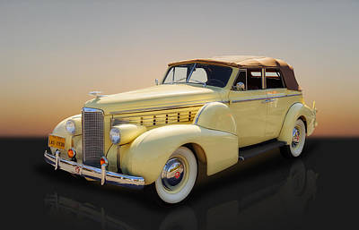 Photograph - 1938 Lasalle Convertible 4 Door Sedan by Frank J Benz