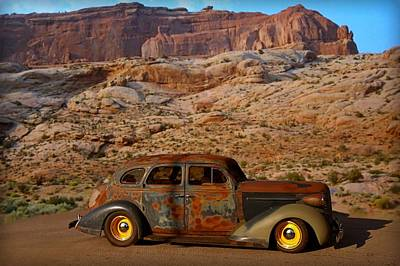 Photograph - 1938 Nash Sedan by Tim McCullough