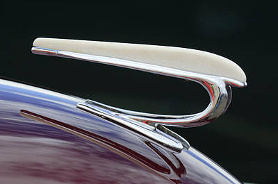 Photograph - 1938 Willys Aftermarket Hood Ornament by Jill Reger